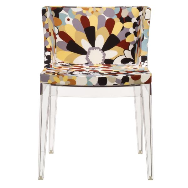 Philippe Starck for Kartell Mademoiselle Chair in Missoni Fabric