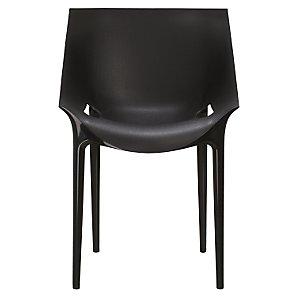 Kartell Philippe Starck for Kartell Dr. Yes Chair, Black