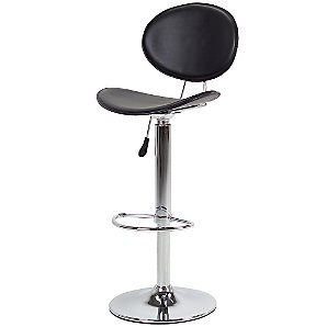 John Lewis Matilda Bar Chair, Black