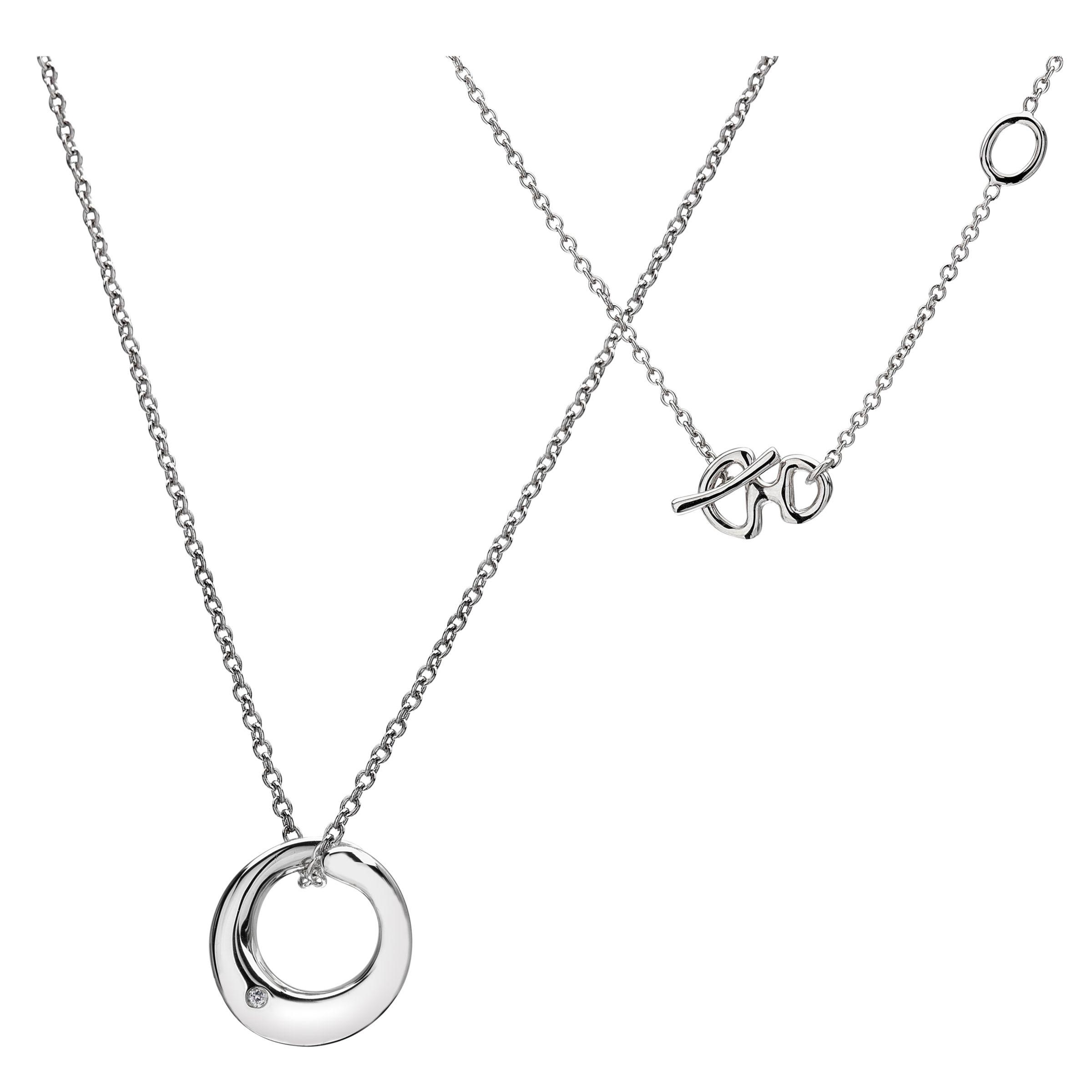 Hot Diamonds Eternal Mini Pendant Necklace