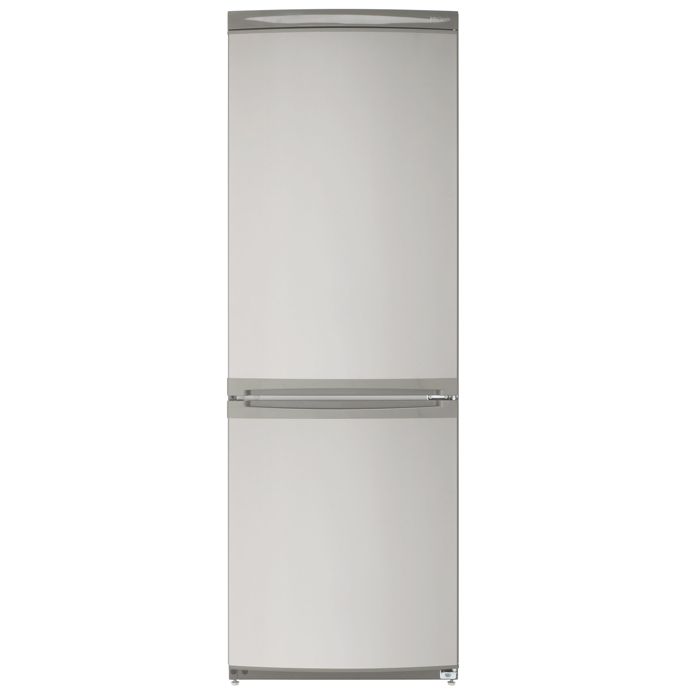 John Lewis JLFFIN175 Fridge Freezer, Stainless Steel Look at John Lewis