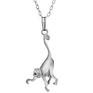 Cheeky Monkey Monkey Pendant Necklace