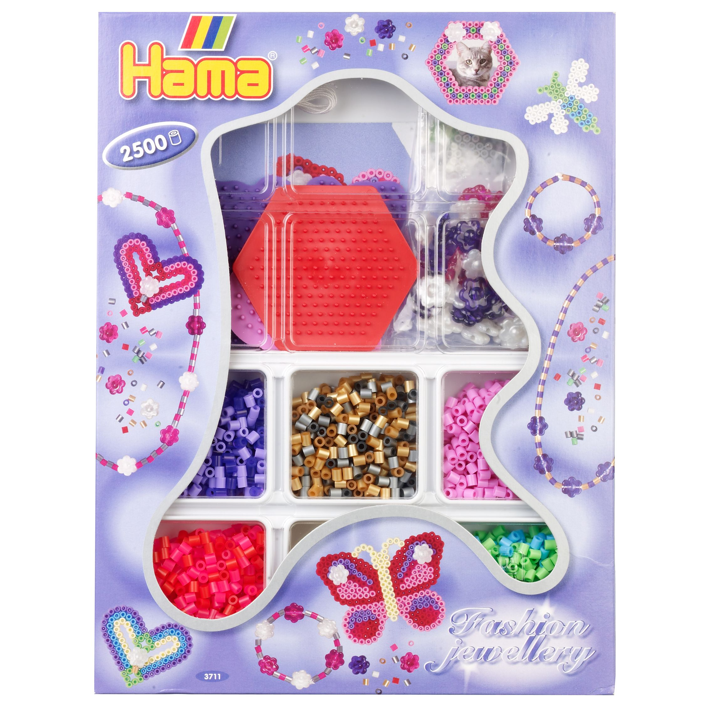 Hama Fashion Jewellery 2500 Bead Kit