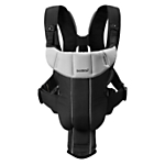 BabyBjörn Baby Carrier Active, Black/Silver