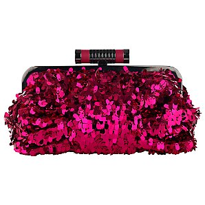 Buy Fiorelli Jezebelle Small Sequin Clutch Bag, Cerise online at JohnLewis.comBuy Fiorelli Jezebelle Small Sequin Clutch Bag, Cerise online at JohnLewis.com - John Lewis