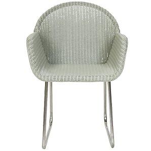 John Lewis Golf Cane Dining Chair, Green