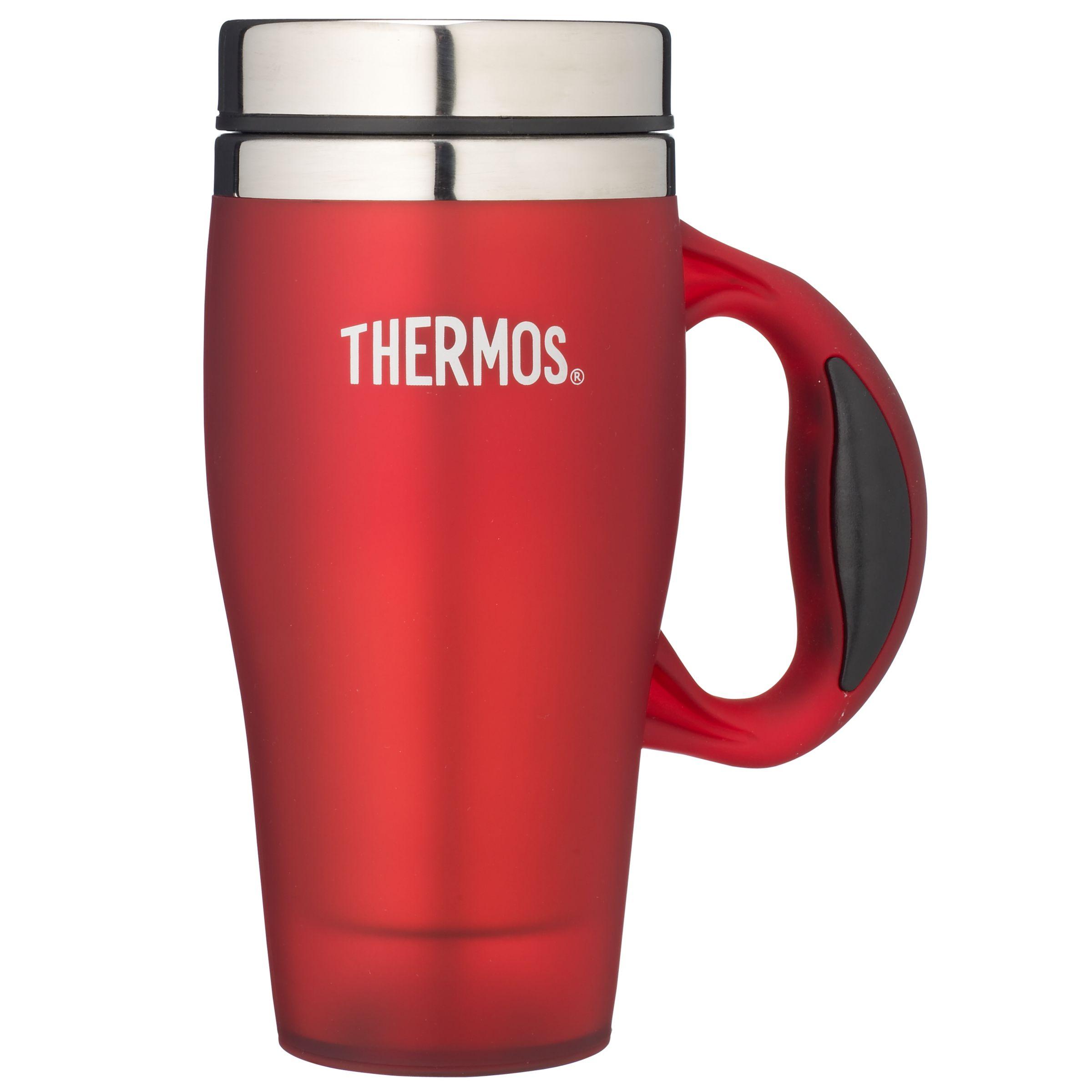 Thermos Travel Mug, Red