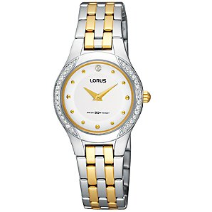 Lorus RRW03DX9 Womens Watch, Silver