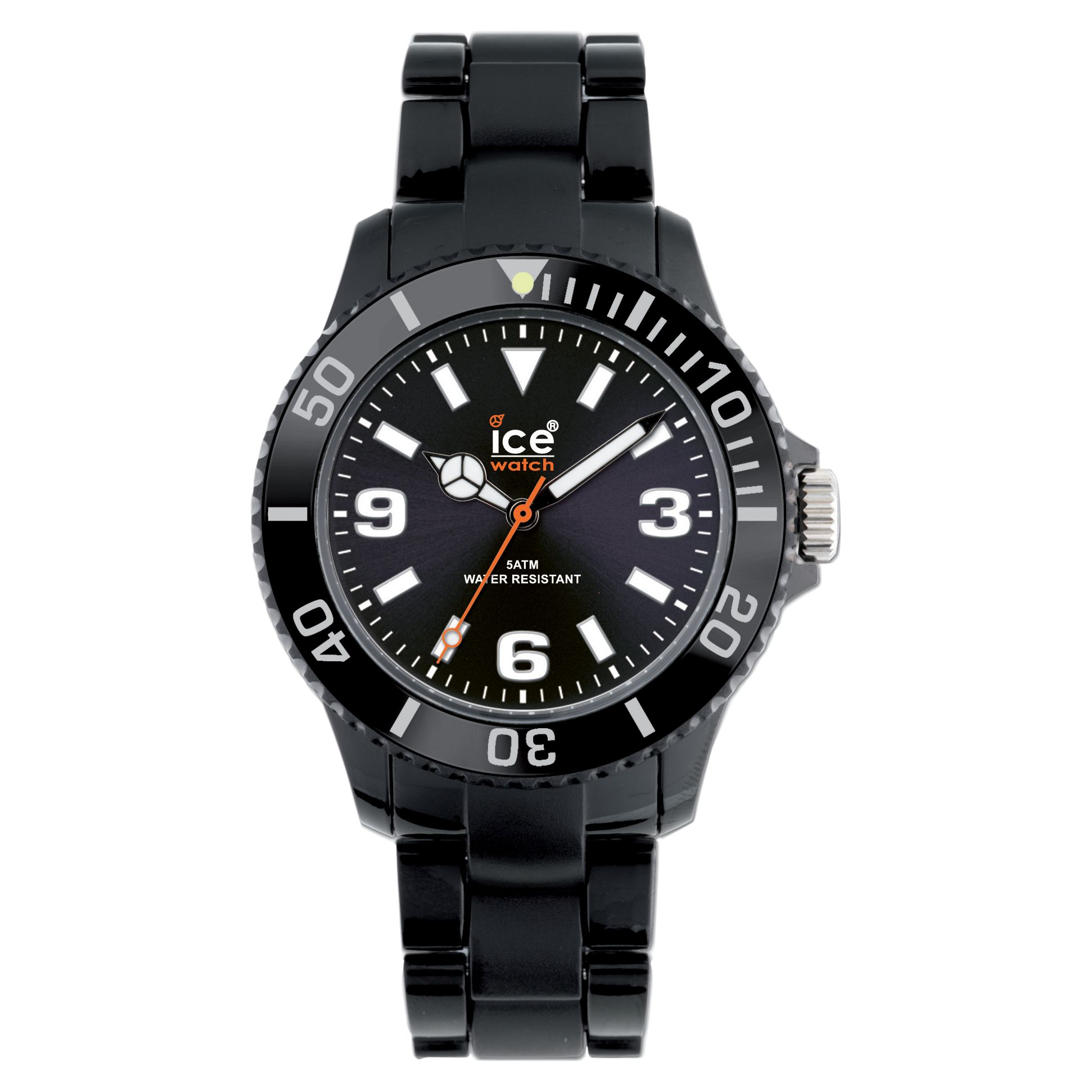 Ice- Watch CL-BK-U-P Classic Unisex Strap Watch, Black