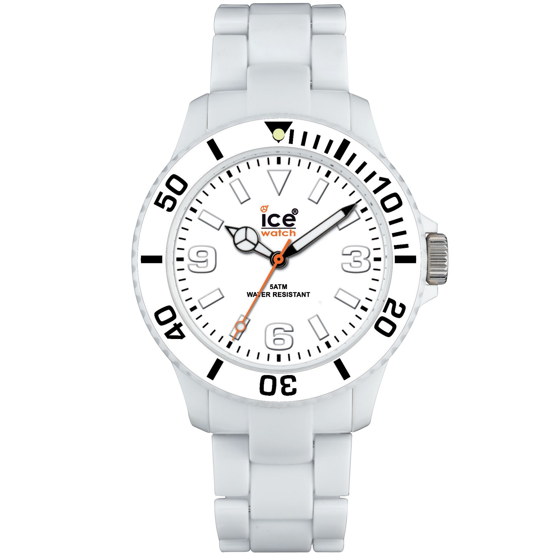Ice CL-WE-U-P Classic Unisex Strap Watch, White