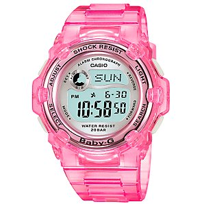 BG-3000-4BER Baby-G Womens Watch, Pink