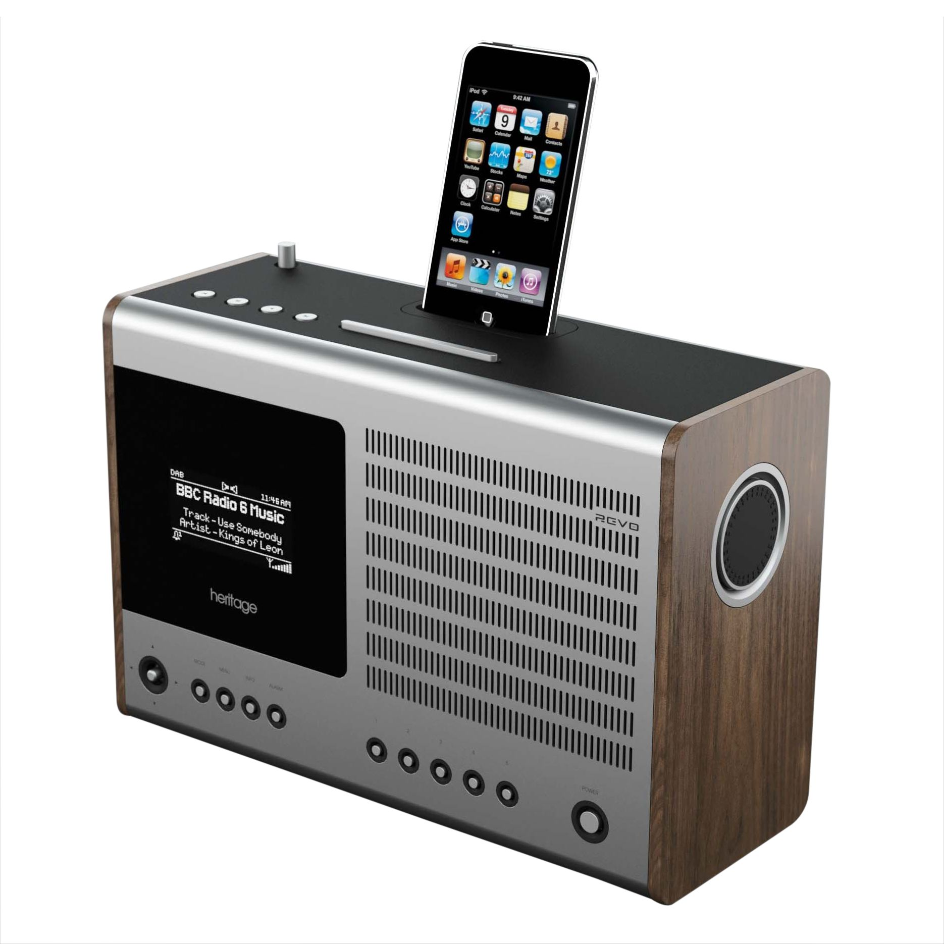 Revo Heritage DAB Internet Radio at JohnLewis