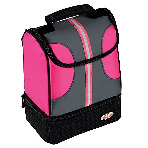Thermos Cool Tec Dual Compartment Lunch Kit, Pink