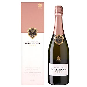 Rosé Champagne Single Bottle Gift