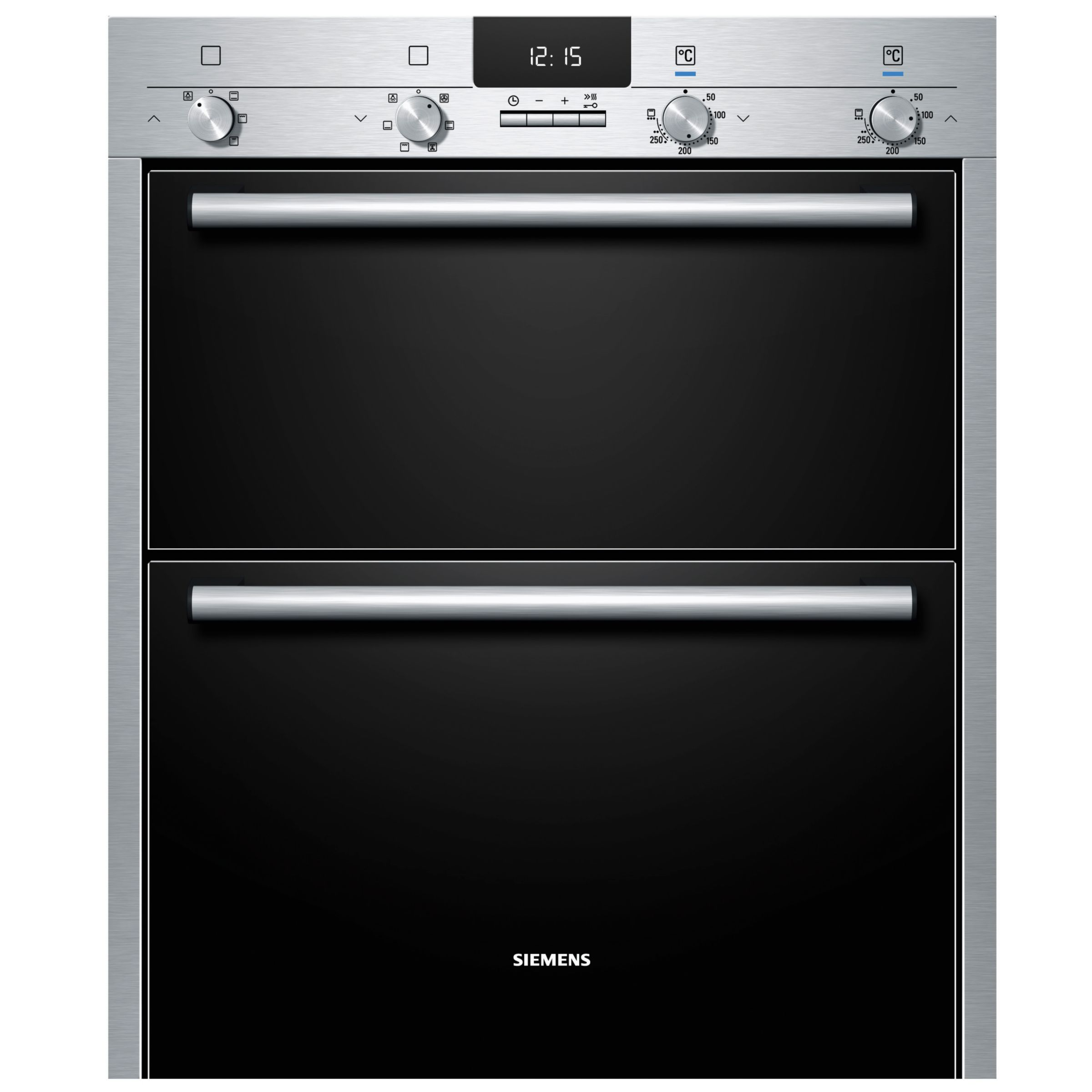 Siemens HB43NB520B Double Electric Oven, Stainless Steel at John Lewis