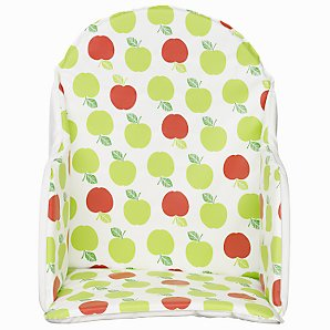 Baby Apple Print Highchair Insert,