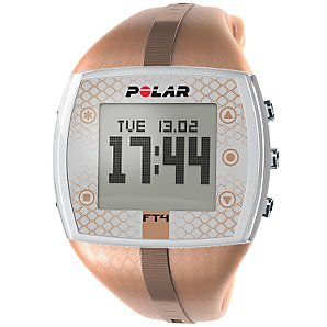 Polar F4 Womens Heart Rate Monitor, Brown