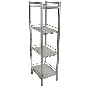 Ice 4 Tier Shelf Unit