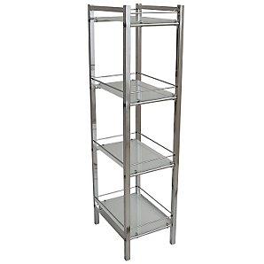 Ice 4 Tier Shelf Unit