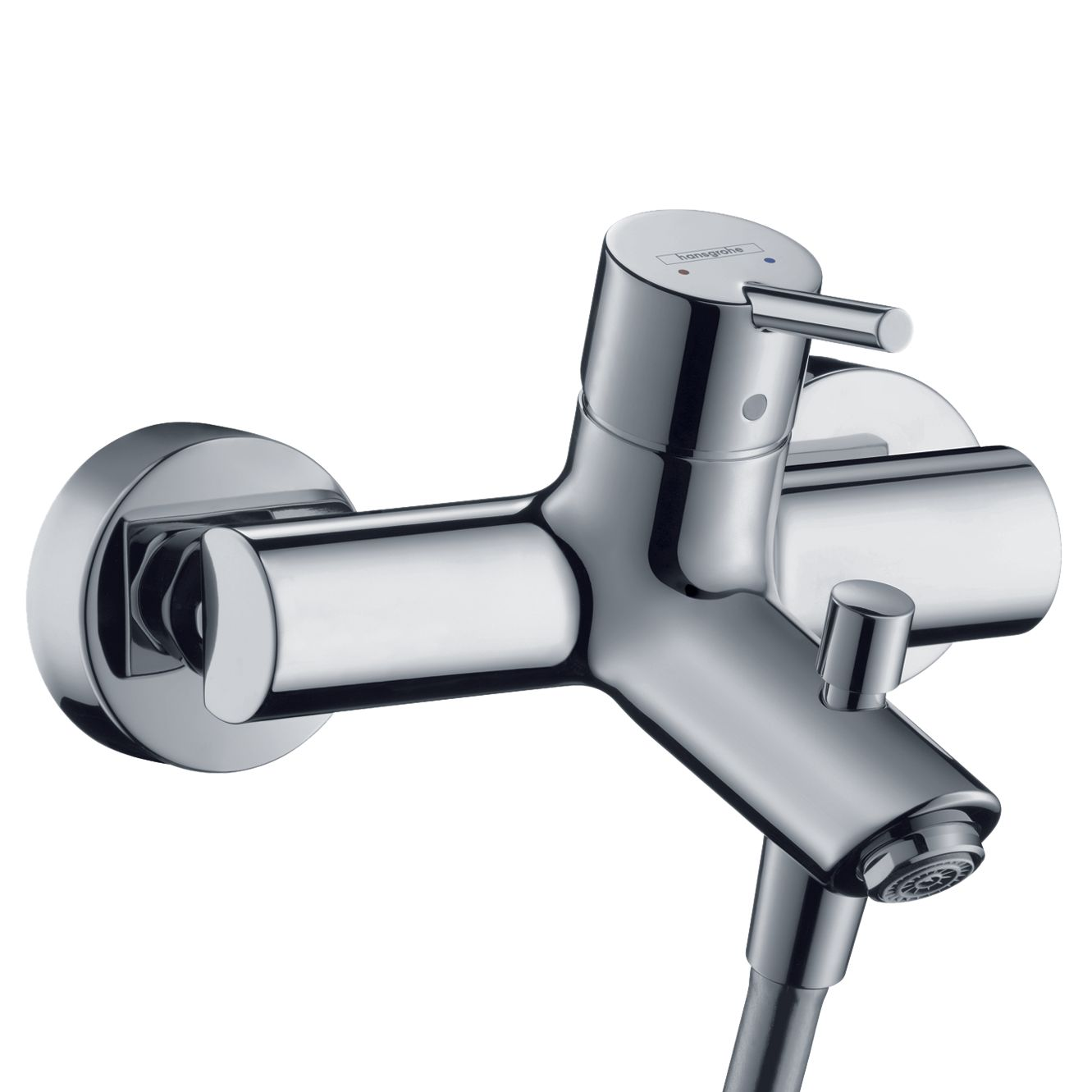 Hansgrohe Tails S2 Chrome Single Lever Bath / Shower Mixer Tap at John Lewis