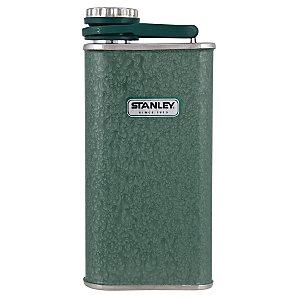 Stanley Classic Hip Flask, Hammertone Green, 0.23L