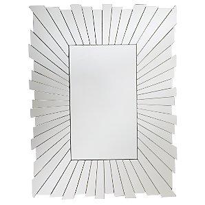 Sunray Rectangular Mirror, H80xW61cm
