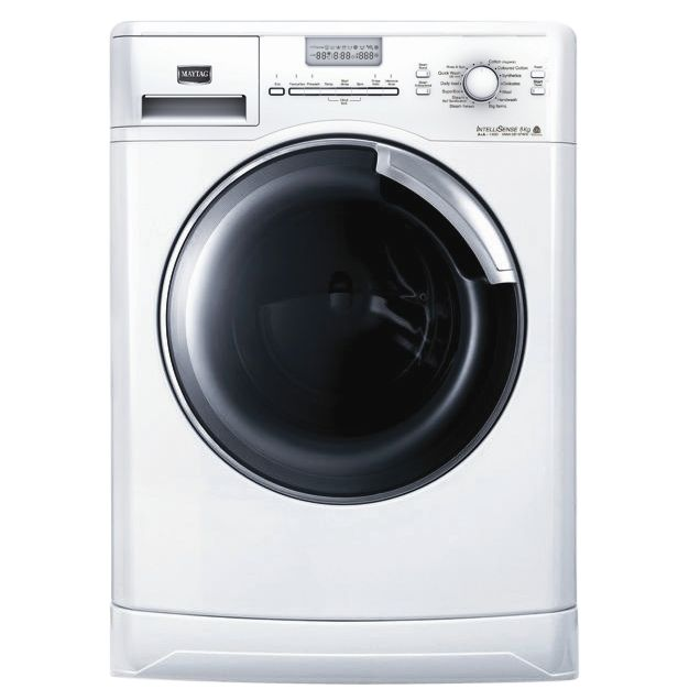 Maytag MWA0814FWN Washing Machine, White