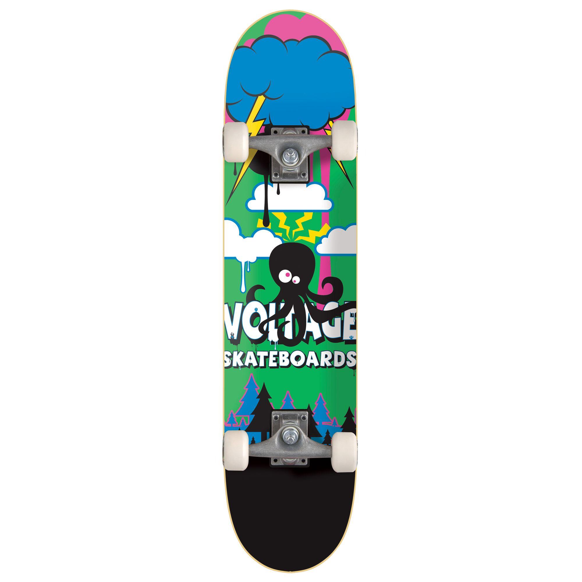 Stateside Skates Little Monsta Octopus Skateboard, Multicoloured