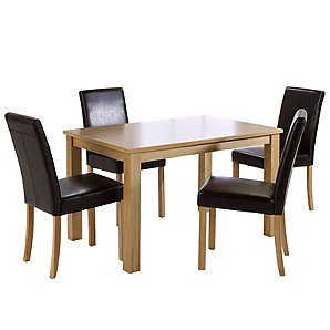 john lewis Linden 4 Seater Dining Table and product image