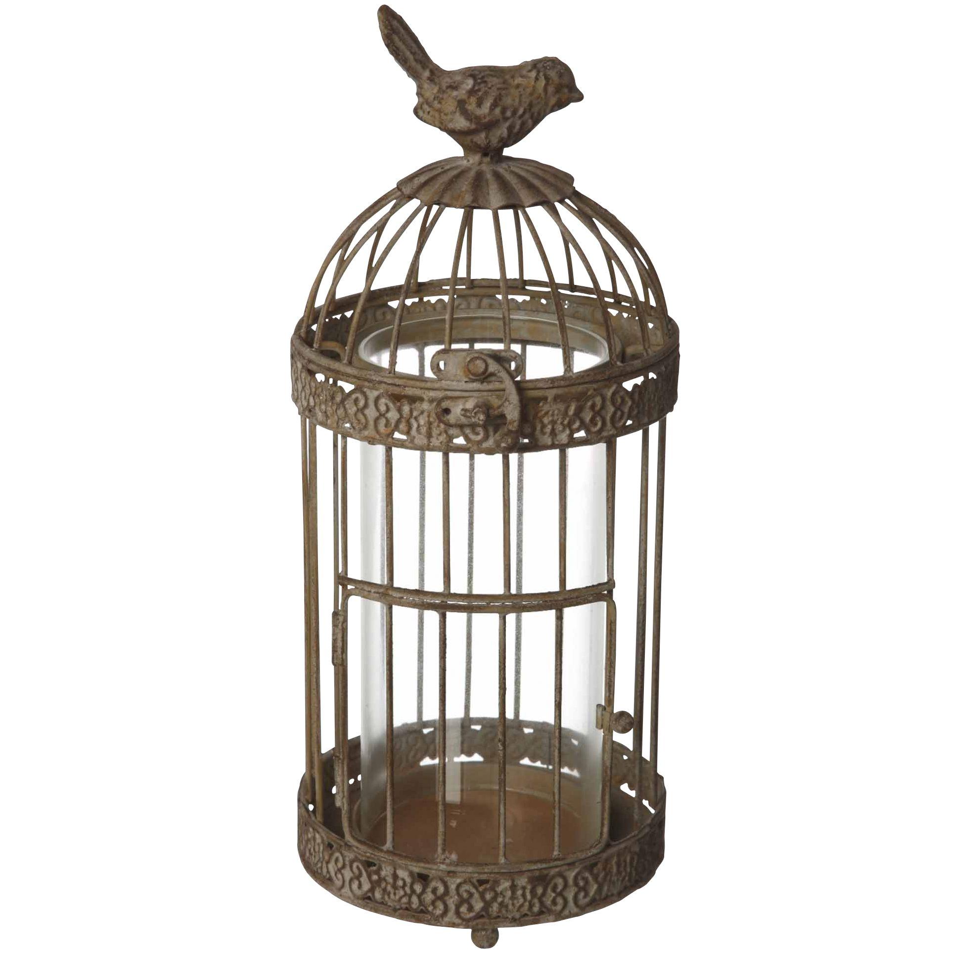Metal Birdcage Lantern
