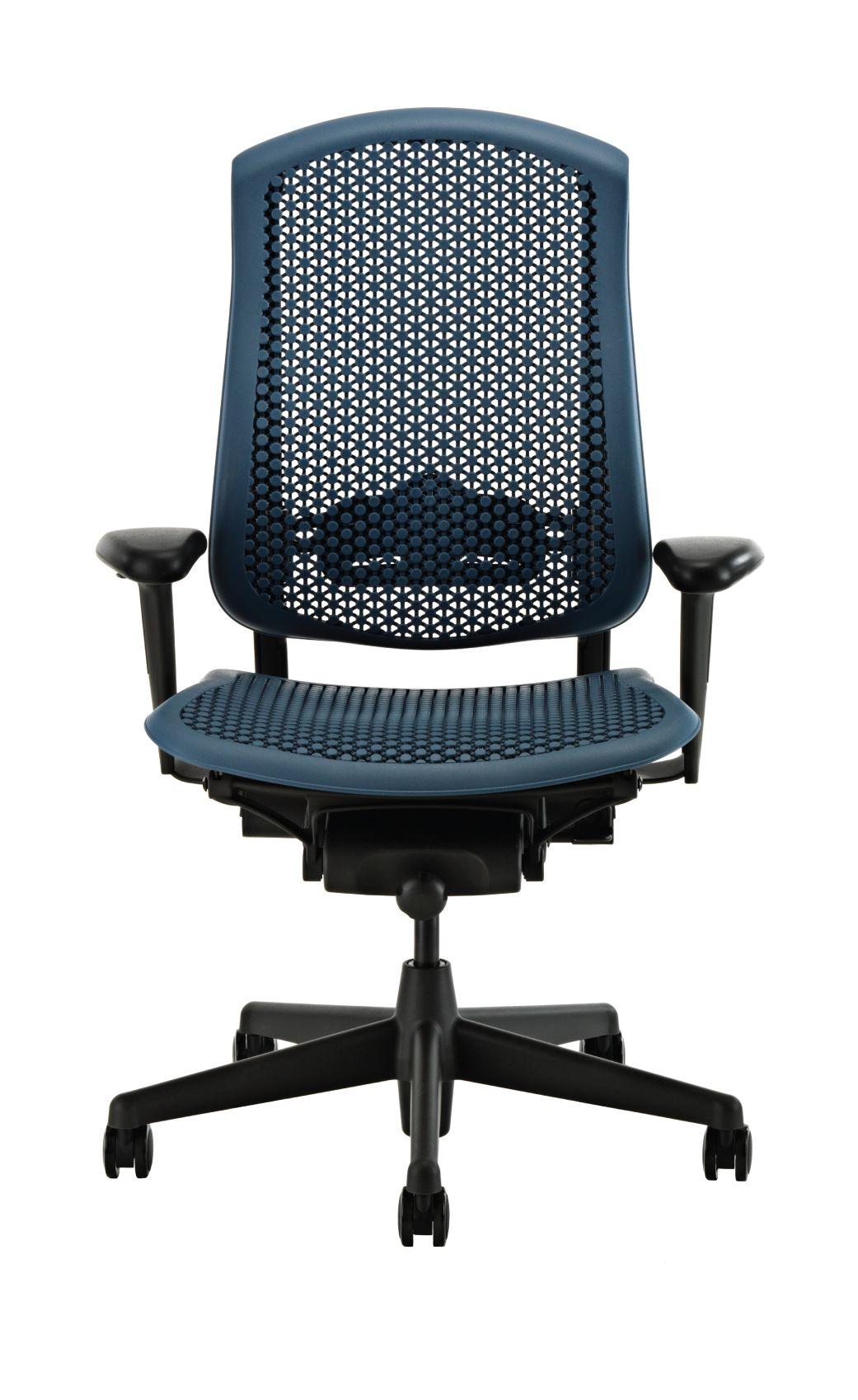Herman Miller Celle Office Chair, Blue Fog