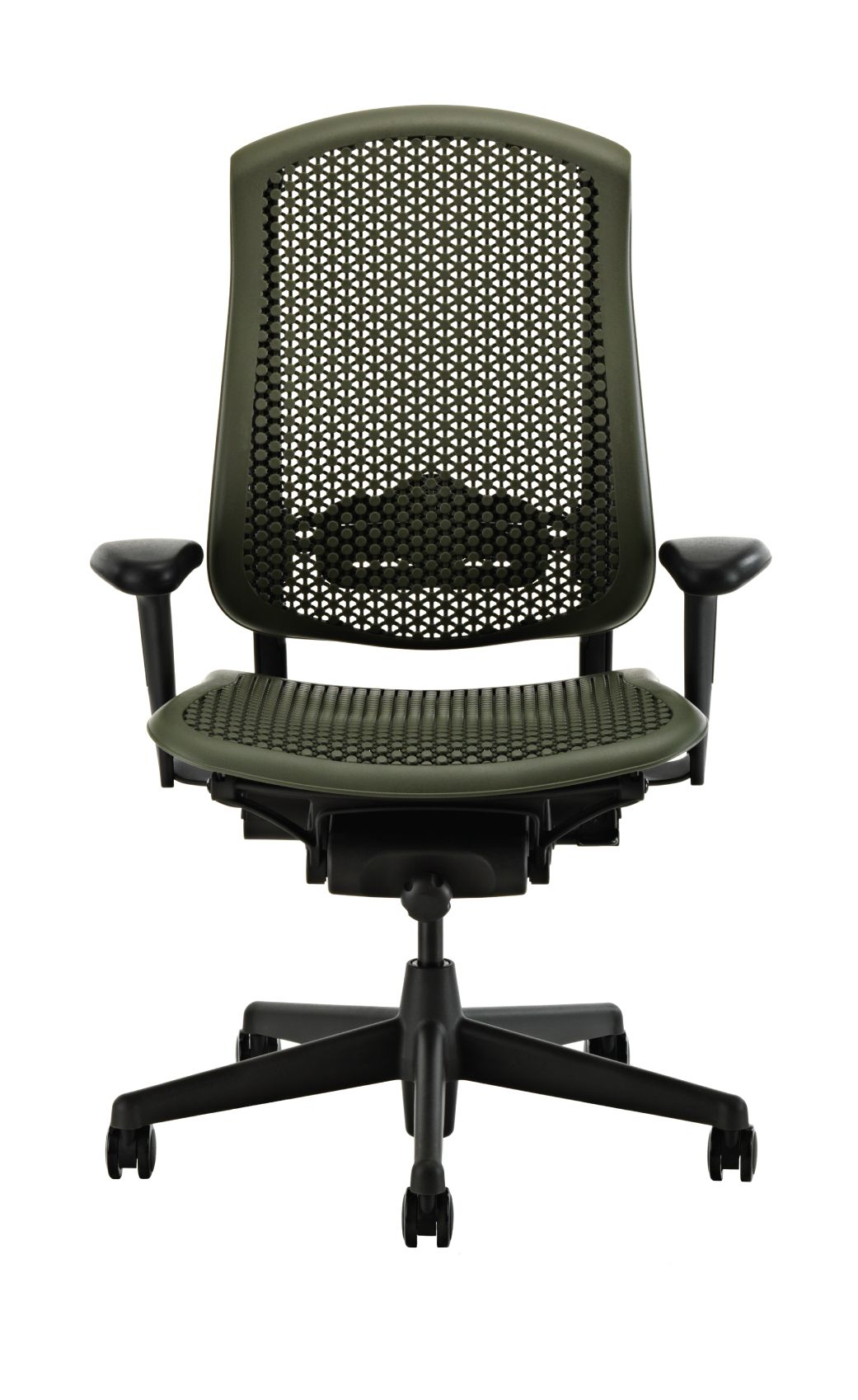 Herman Miller Celle Office Chair, Felt Green