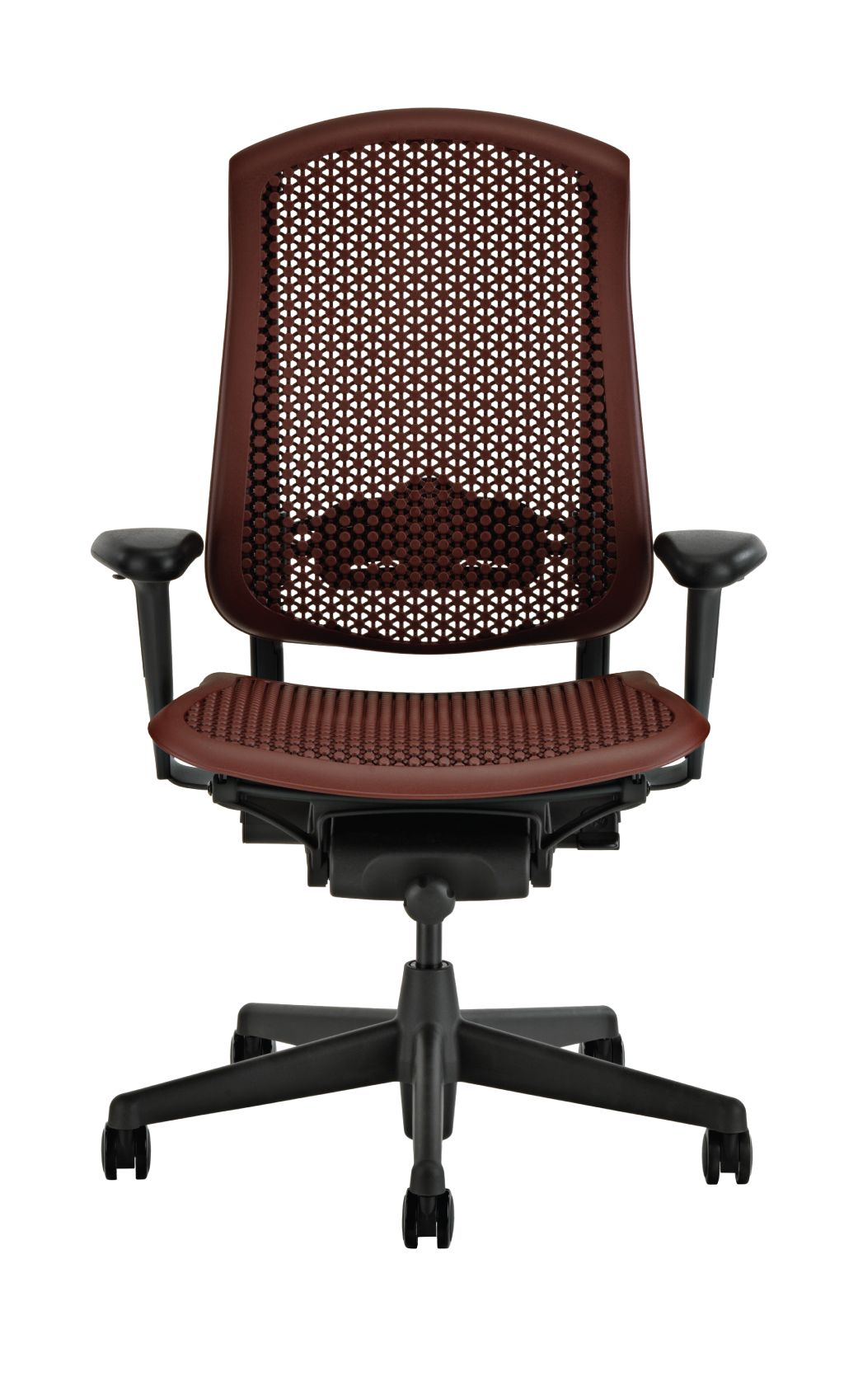 Herman Miller Celle Office Chair, Cabernet