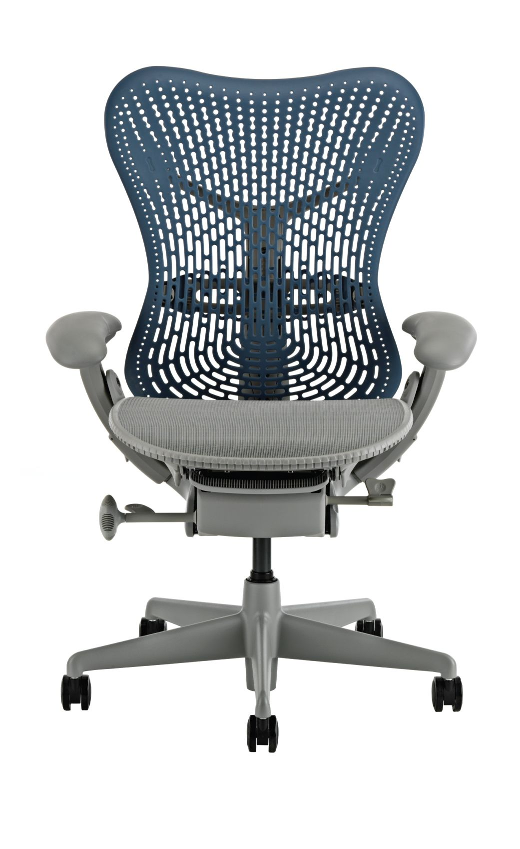 Herman Miller Mirra Office Chair, Blue Fog