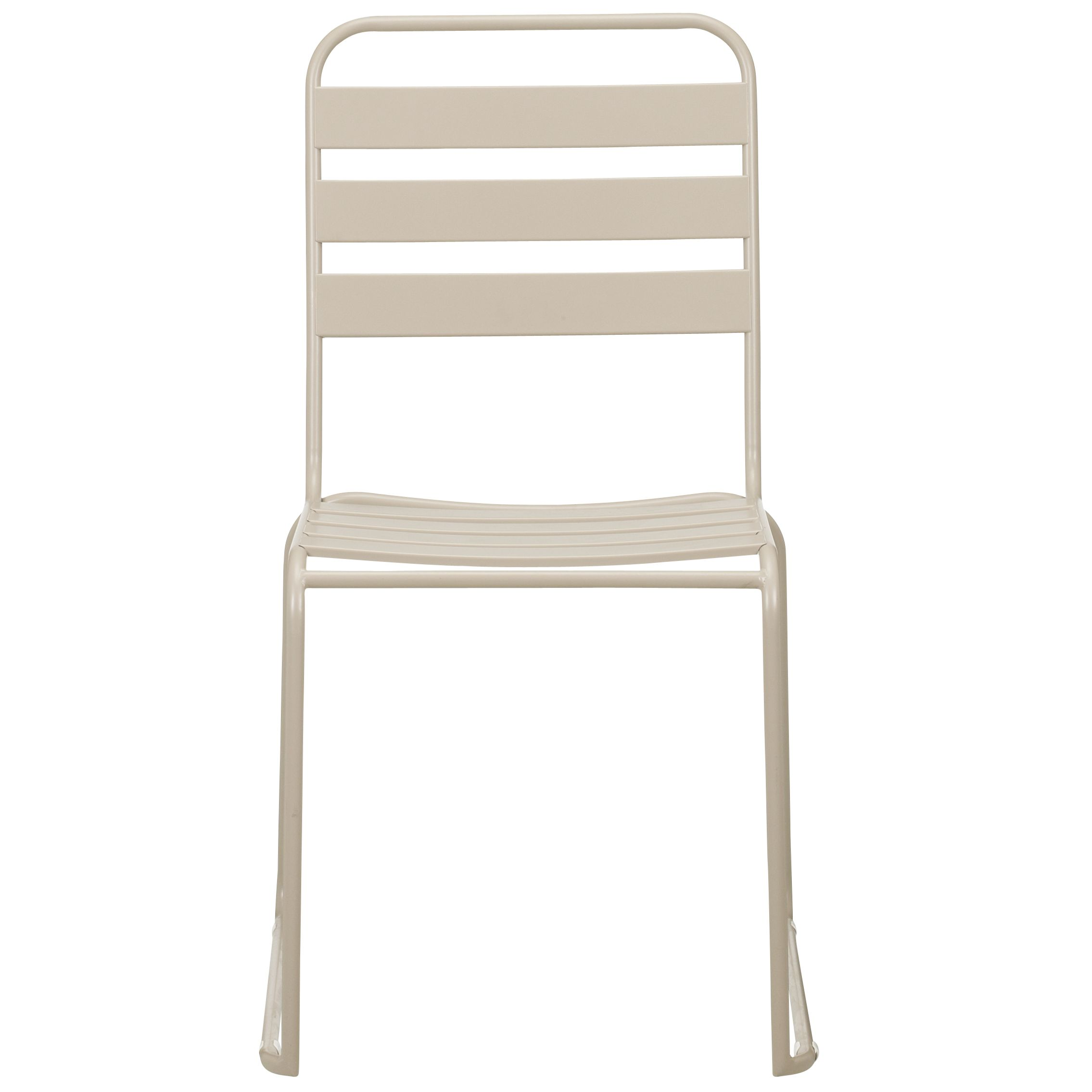 John Lewis Mocha Outdoor Dining Chair, Set of 6