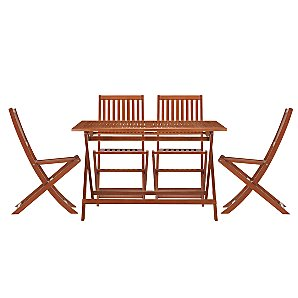 John Lewis Value Breeze Dining Table and 4 Chairs Set