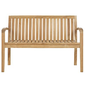 John Lewis Austin Garden Bench, 4ft
