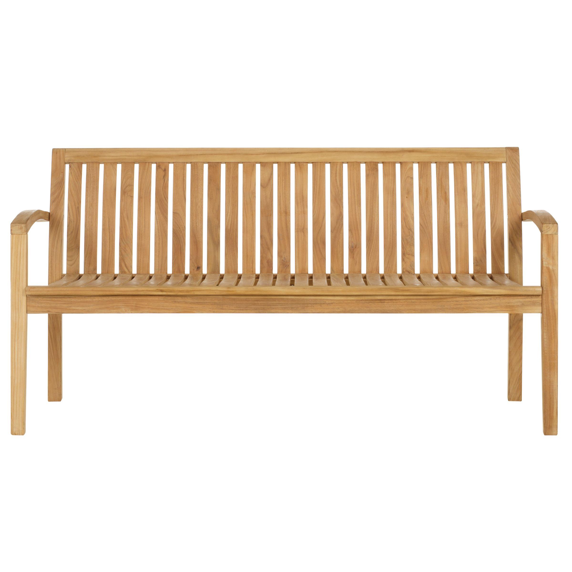 John Lewis Austin Garden Bench, 5ft