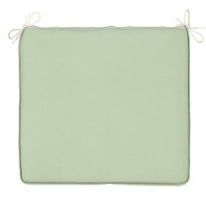 Large Seat Pad, Plain Leaf