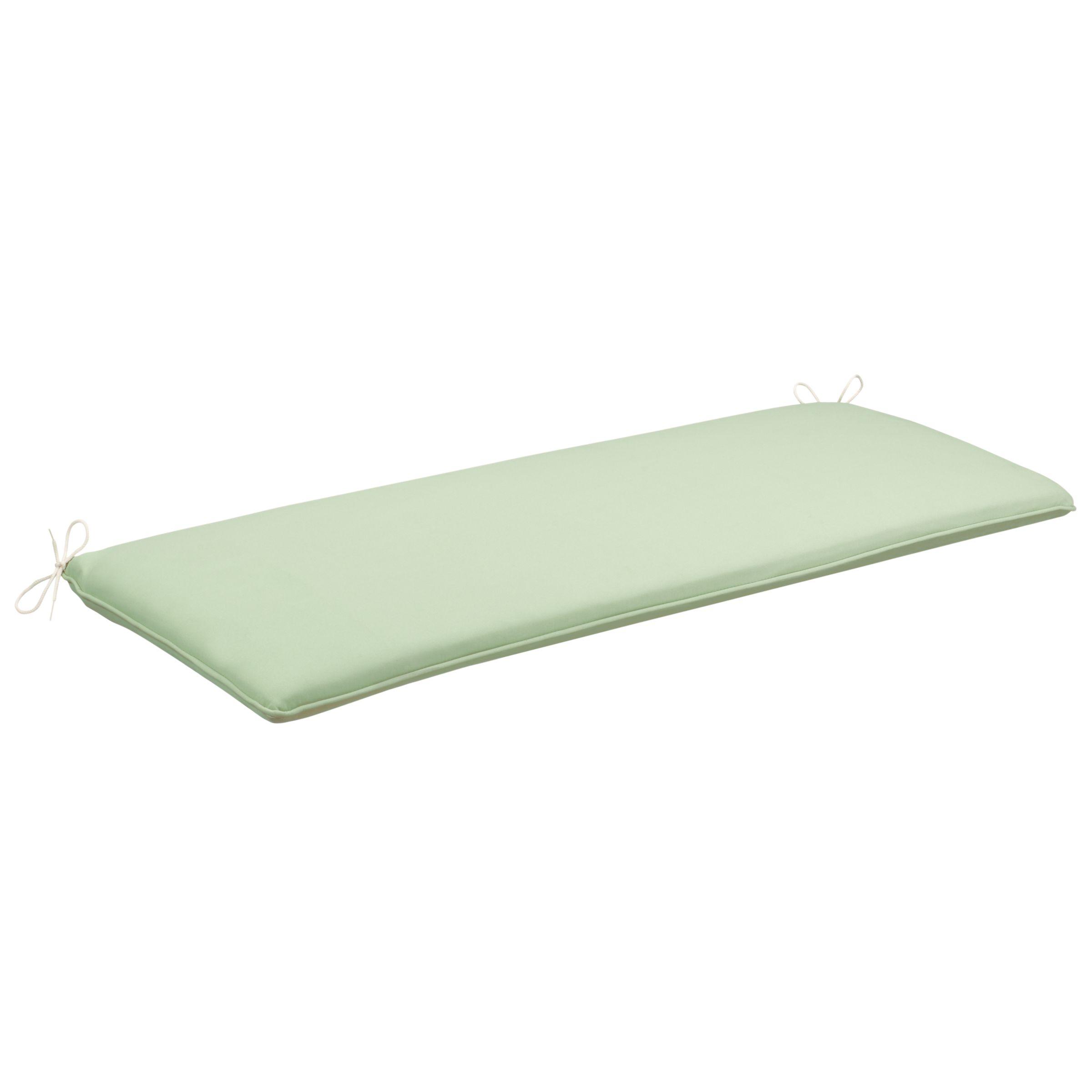 John Lewis Bench Cushion, Leaf