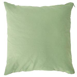 Square Scatter Cushion, Leaf