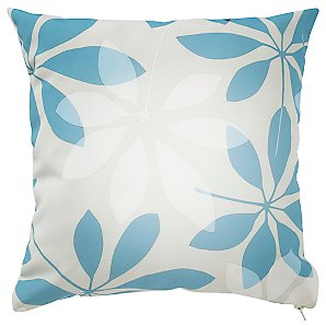 Square Scatter Cushion, Forage Leaves