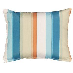 Rectangular Scatter Cushion, Forage Stripe