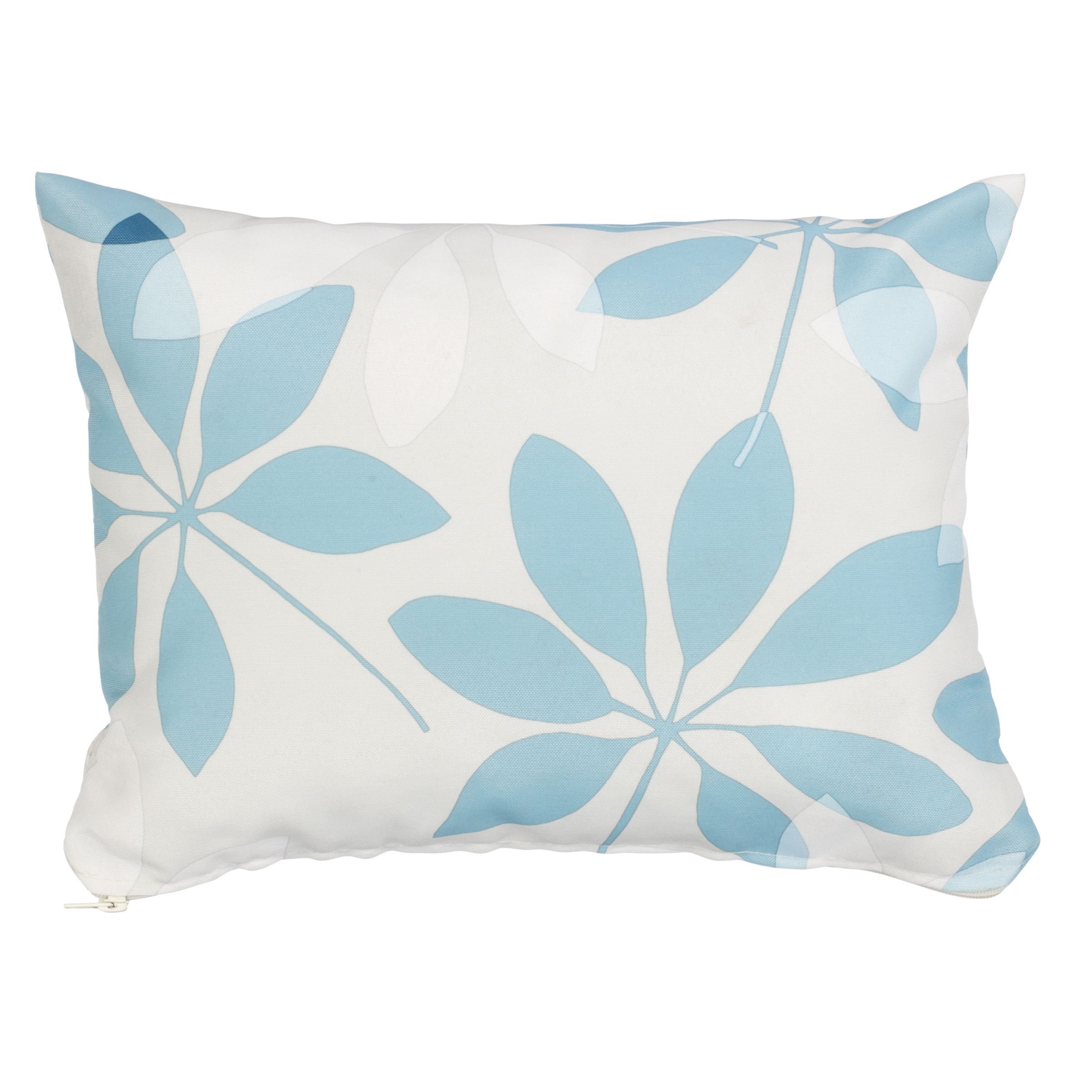 Rectangular Scatter Cushion, Forage Leaves