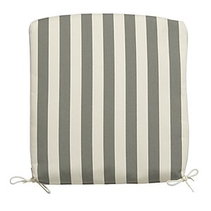 Royal Garden Side Chair Cushion, Stripe