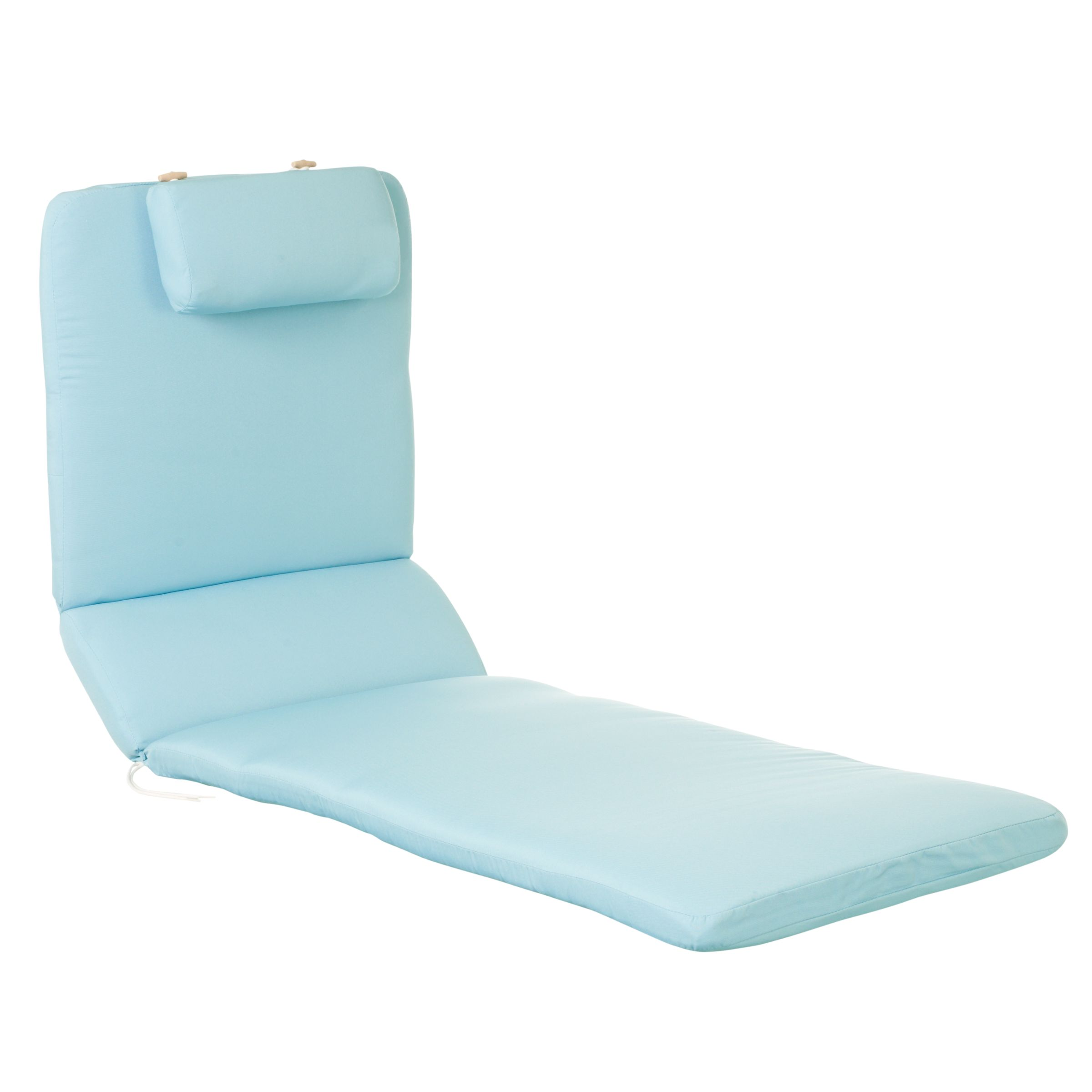 Royal Garden Alexo Lounger Cushion, Kingfisher