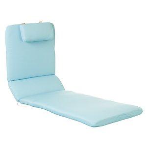 Royal Garden Alexo Lounger Cushion, Kingfisher