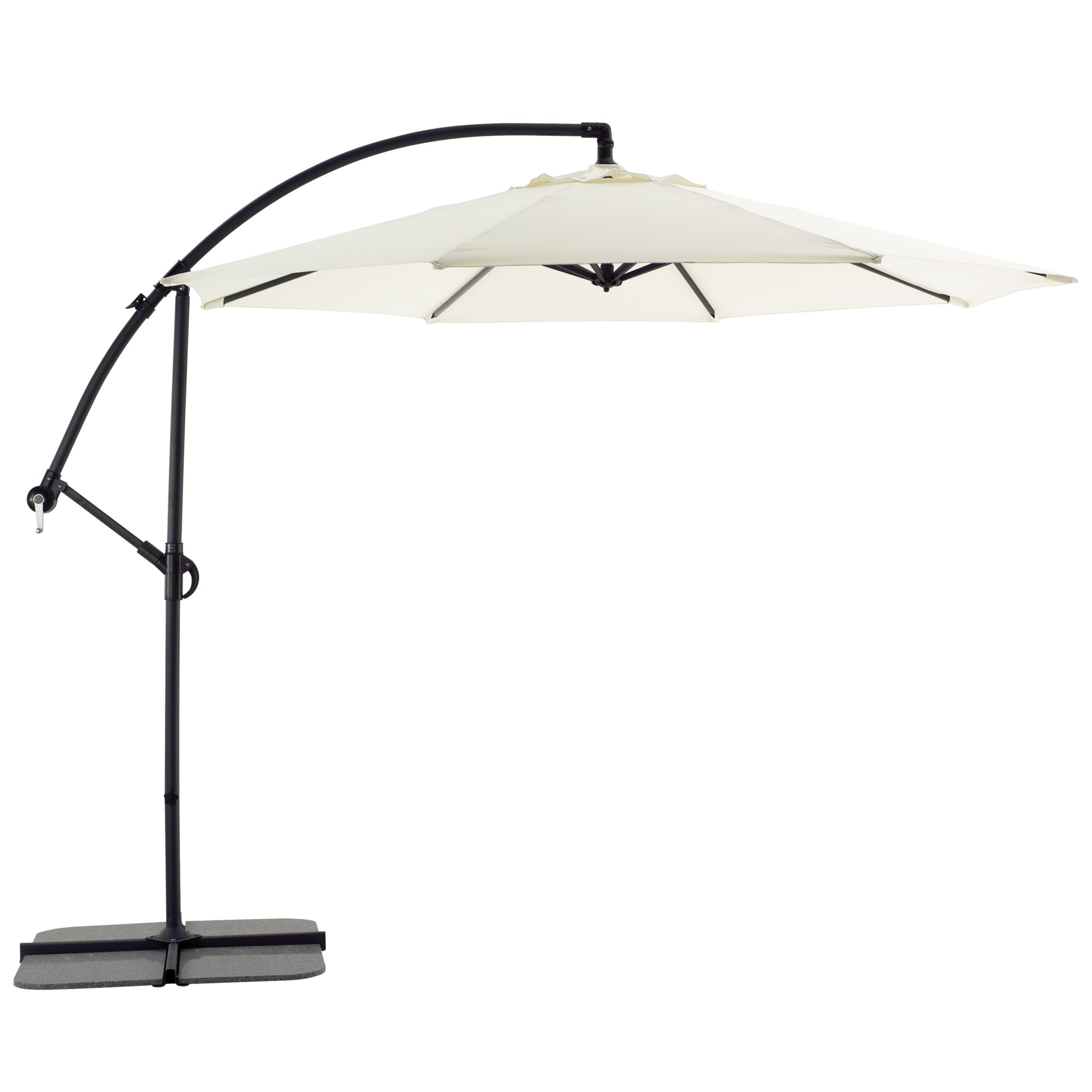 Freestanding Garden Parasol, Natural