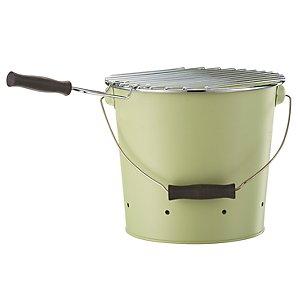 John Lewis Bucket Charcoal BBQ, Leaf