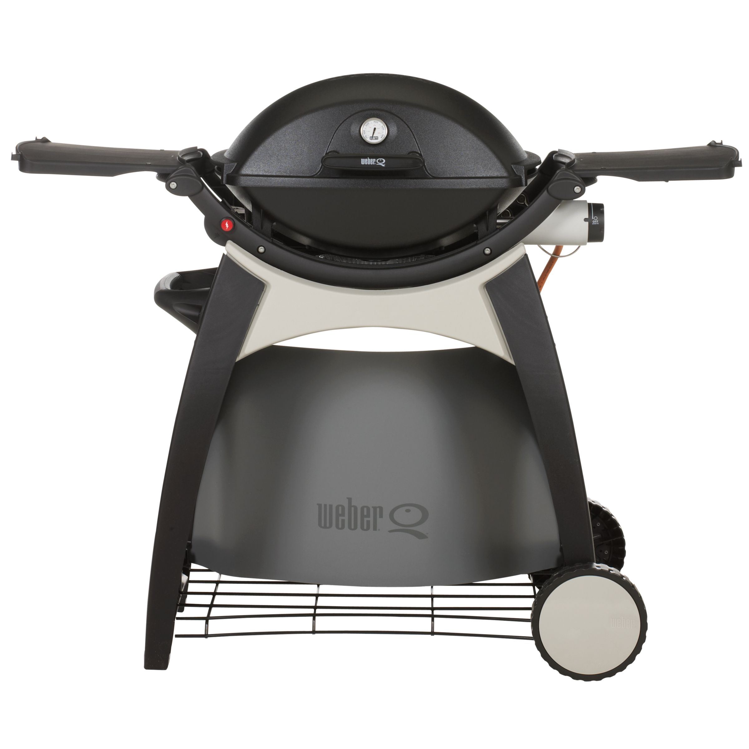 Weber Q220 Black Line Gas Barbecue with Cart